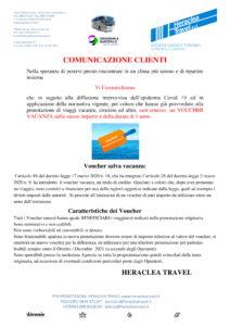 Heraclea – Comunicazione Voucher