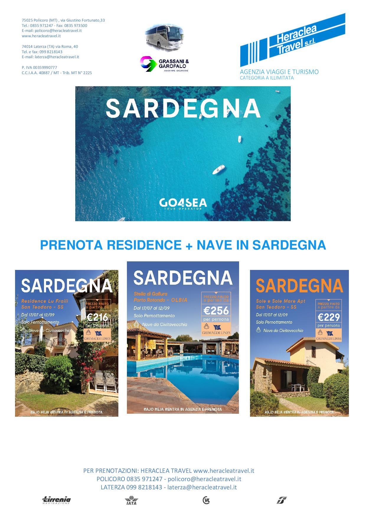 Heraclea – Sardegna Nave e Residence