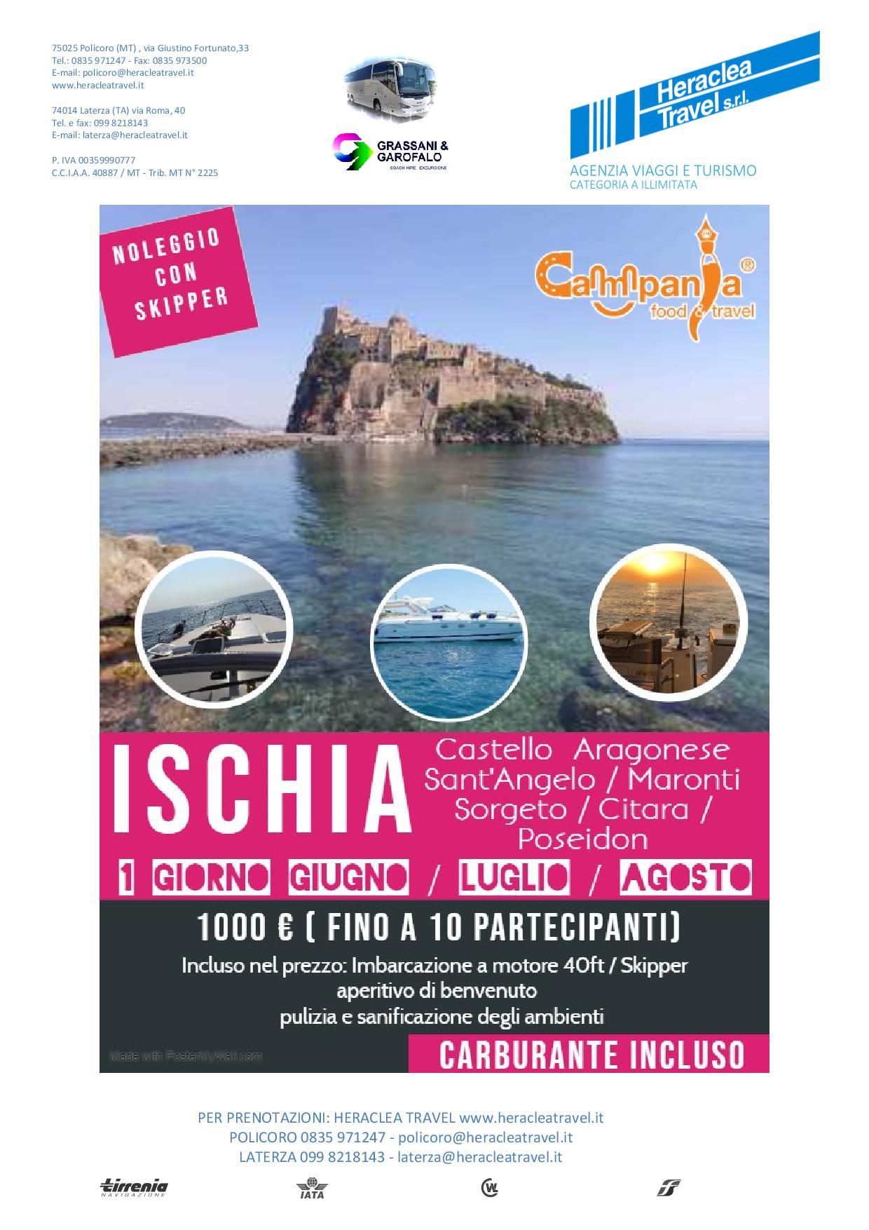Heraclea – Ischia in Barca