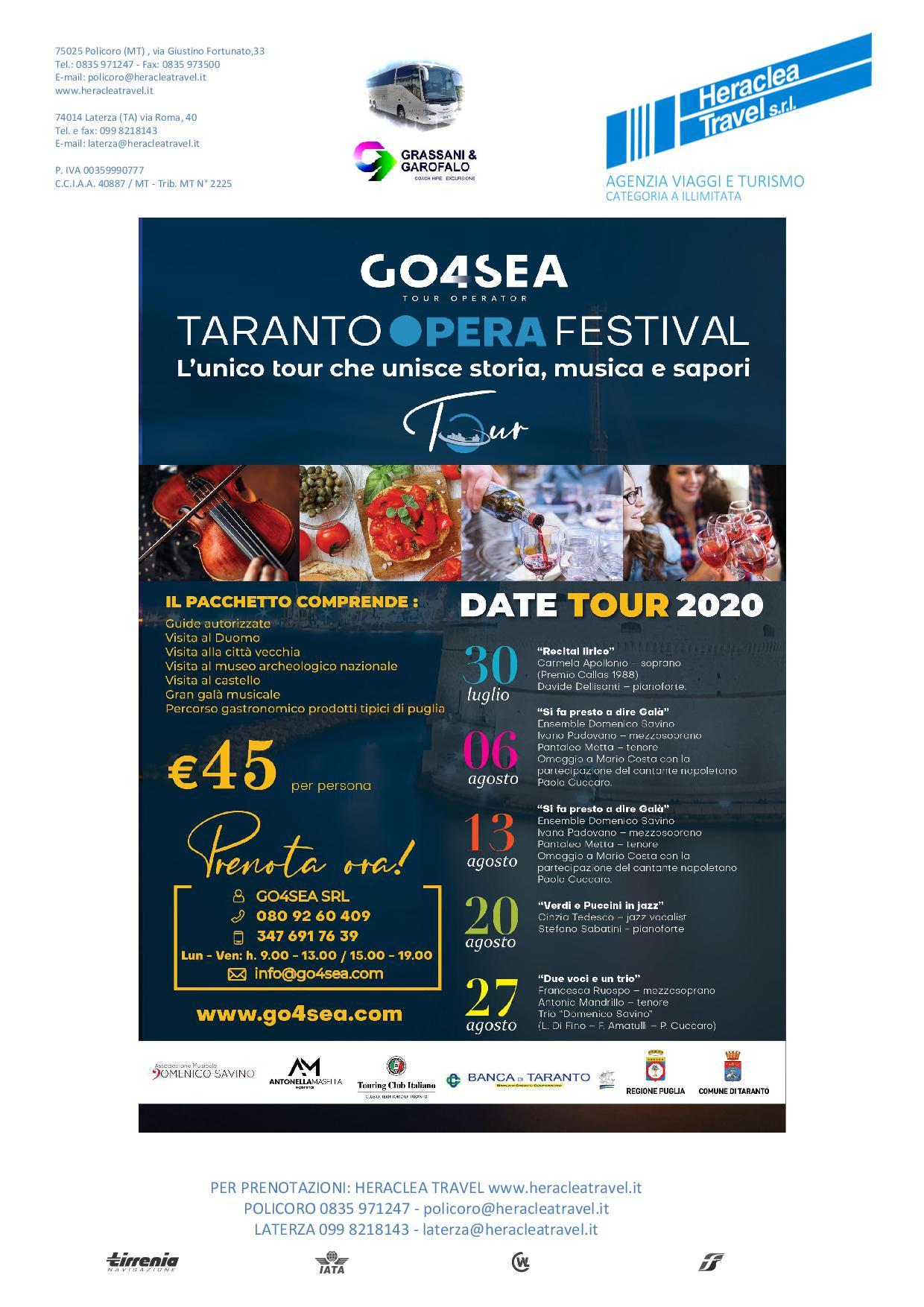 Heraclea – Opera Festival Taranto