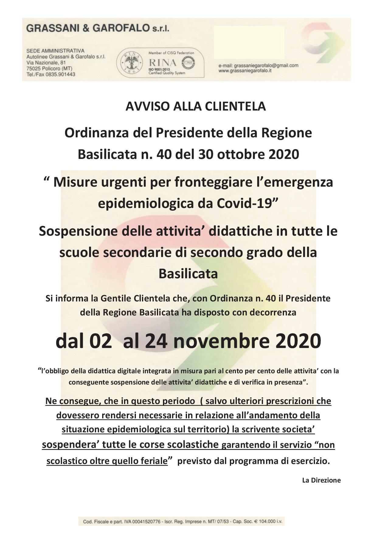 Comunicazione – Grassani & Garofalo